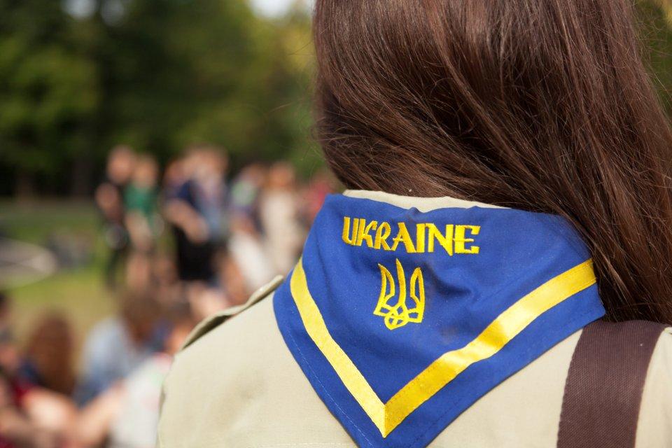 Pfadfinden in der Ukraine ist derzeit sehr schwierig. Foto: Simon Vollmeyer