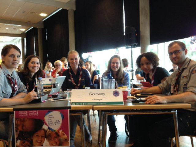 Sitzung WAGGGS